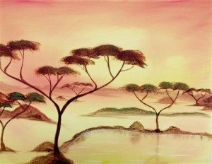 Afrika Canvas (Small)