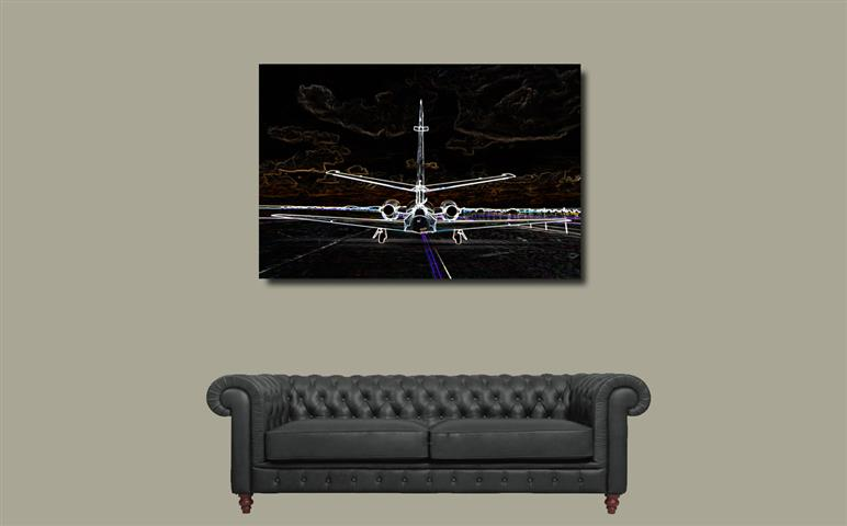 Background Jet (Small)